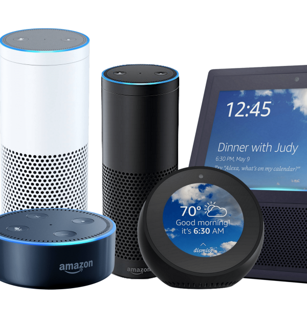 Amazon Alexa products - dot, Echo, Video viewer