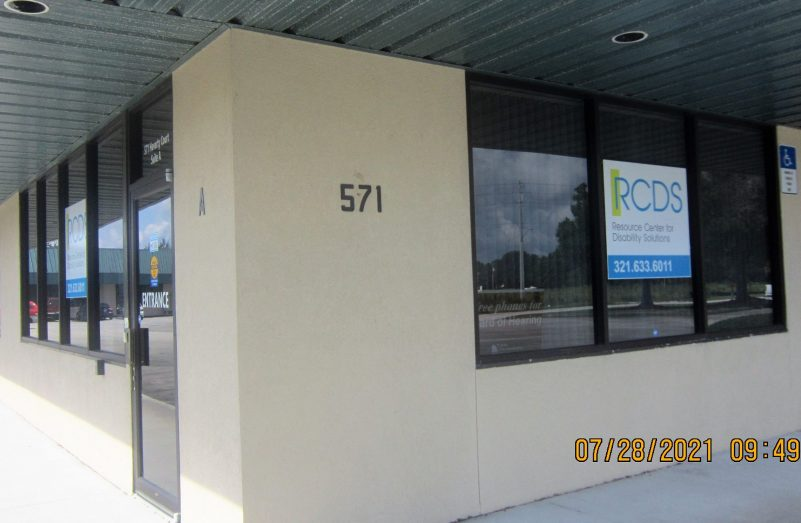 Front of office building in Rockledge FL
